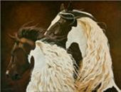 Horse painting 14